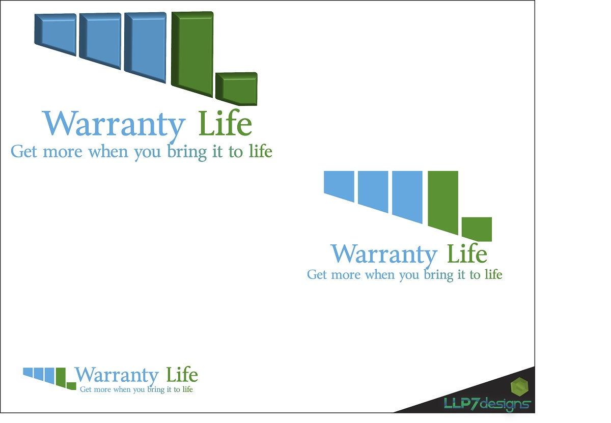 Logo Design by LLP7 - Entry No. 91 in the Logo Design Contest WarrantyLife Logo Design.