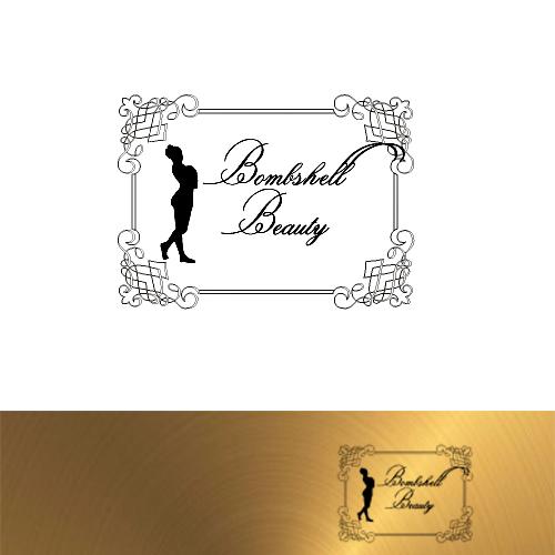 Logo Design by Jelena Kaerner - Entry No. 101 in the Logo Design Contest Logo Design Needed for Exciting New Company Bombshell Beauty.