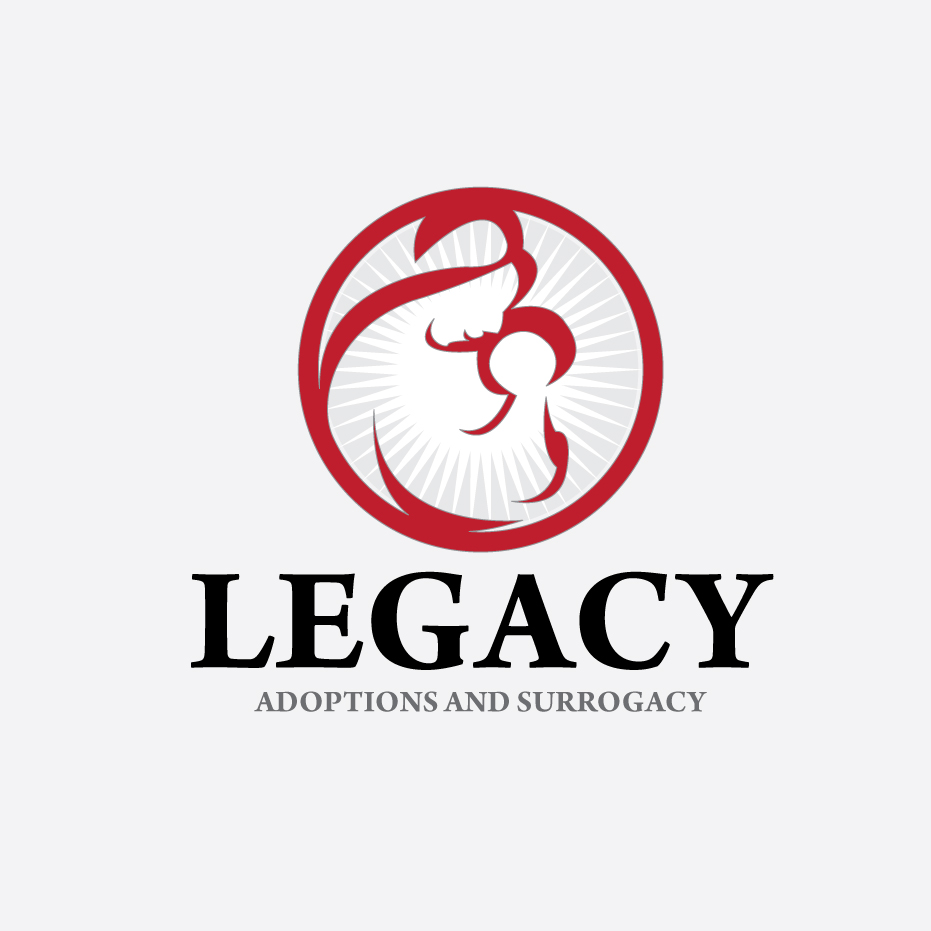 Logo Design by stormbighit - Entry No. 45 in the Logo Design Contest Legacy Adoptions and Surrogacy Logo Design.