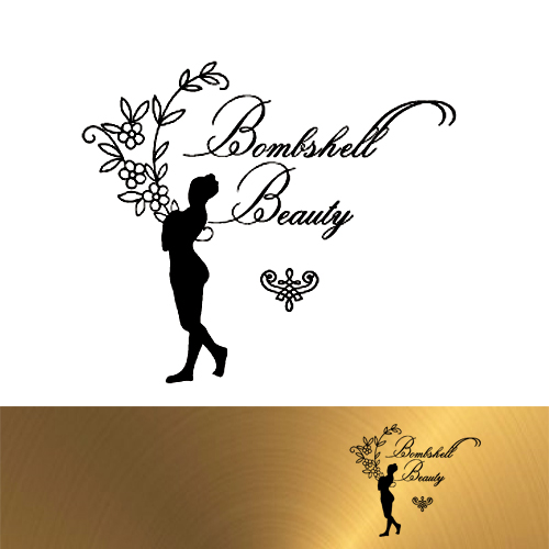 Logo Design by Jelena Kaerner - Entry No. 102 in the Logo Design Contest Logo Design Needed for Exciting New Company Bombshell Beauty.