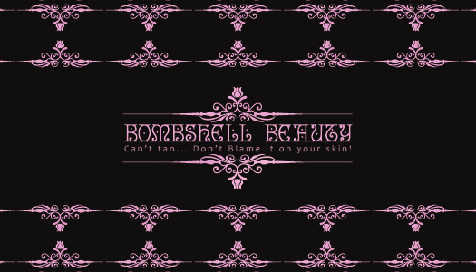 Logo Design by Eric White Origami Associates - Entry No. 106 in the Logo Design Contest Logo Design Needed for Exciting New Company Bombshell Beauty.