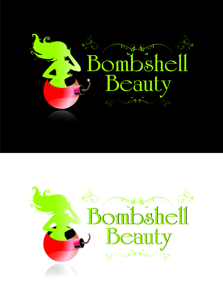 Logo Design by Private User - Entry No. 109 in the Logo Design Contest Logo Design Needed for Exciting New Company Bombshell Beauty.