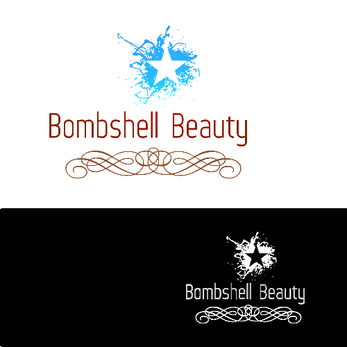 Logo Design by Jelena Kaerner - Entry No. 110 in the Logo Design Contest Logo Design Needed for Exciting New Company Bombshell Beauty.