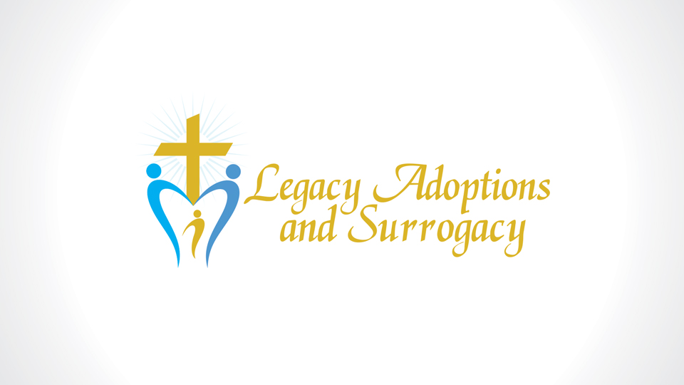 Logo Design by azqaa - Entry No. 48 in the Logo Design Contest Legacy Adoptions and Surrogacy Logo Design.
