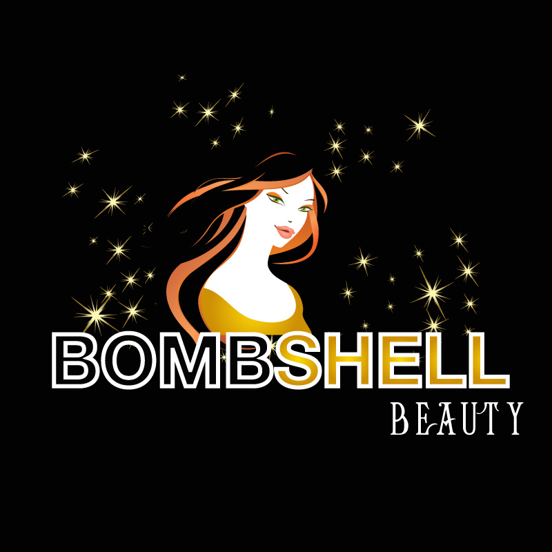 Logo Design by Private User - Entry No. 116 in the Logo Design Contest Logo Design Needed for Exciting New Company Bombshell Beauty.