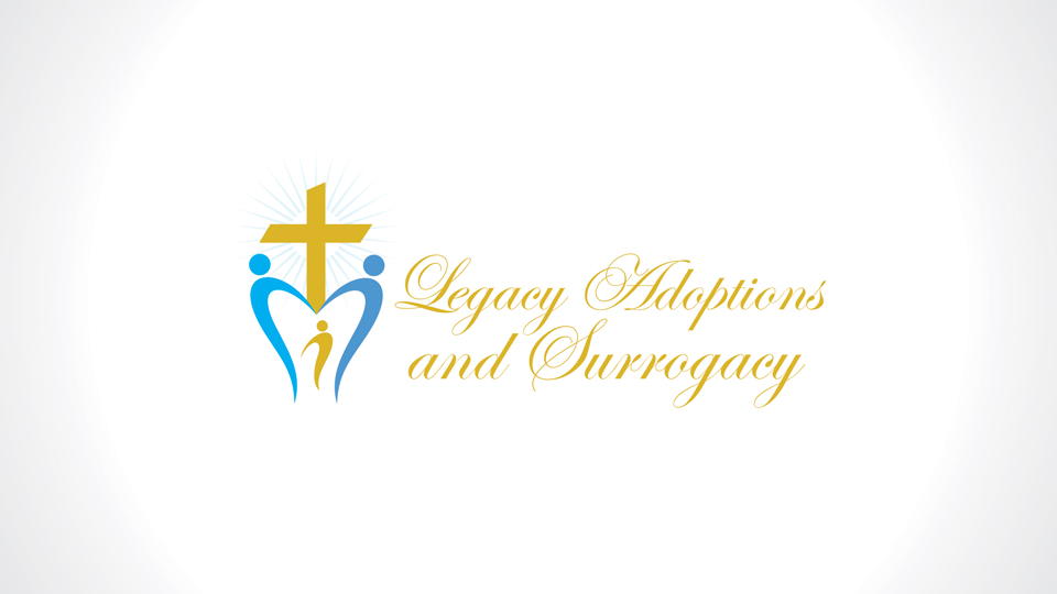 Logo Design by azqaa - Entry No. 50 in the Logo Design Contest Legacy Adoptions and Surrogacy Logo Design.
