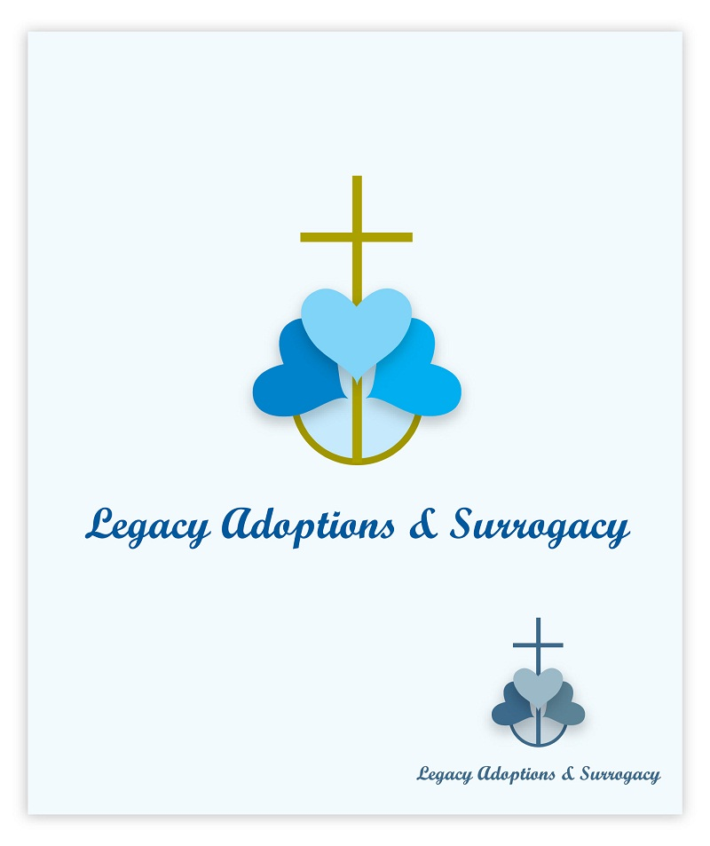 Logo Design by kowreck - Entry No. 53 in the Logo Design Contest Legacy Adoptions and Surrogacy Logo Design.