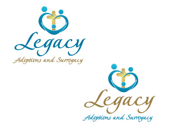 Logo Design by ddamian_dd - Entry No. 59 in the Logo Design Contest Legacy Adoptions and Surrogacy Logo Design.