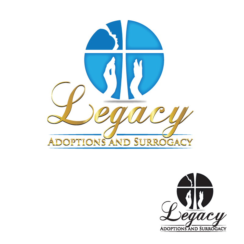 Logo Design by storm - Entry No. 61 in the Logo Design Contest Legacy Adoptions and Surrogacy Logo Design.