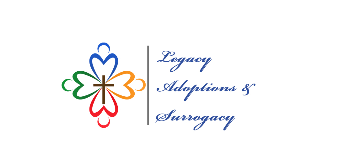 Logo Design by JohnLouie Binas - Entry No. 66 in the Logo Design Contest Legacy Adoptions and Surrogacy Logo Design.