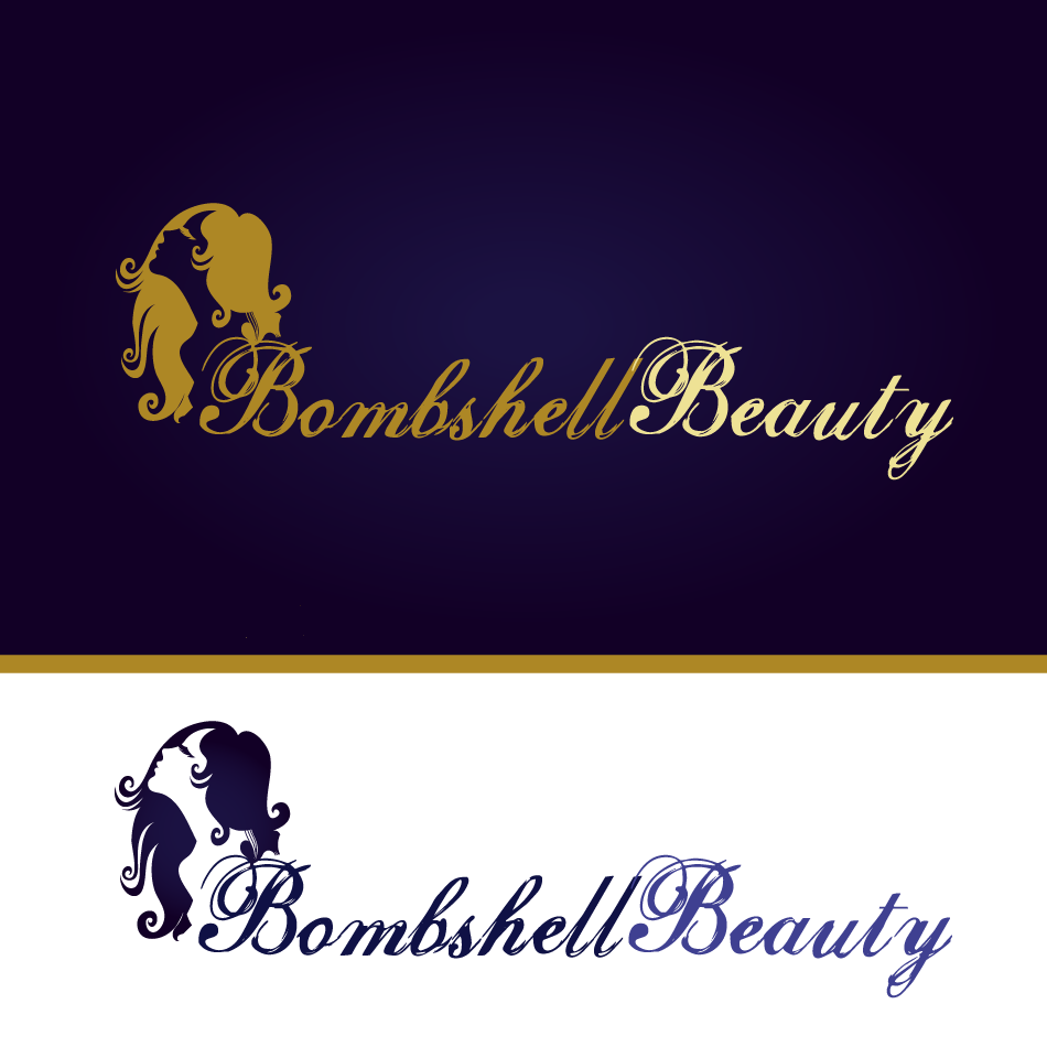 Logo Design by moonflower - Entry No. 128 in the Logo Design Contest Logo Design Needed for Exciting New Company Bombshell Beauty.