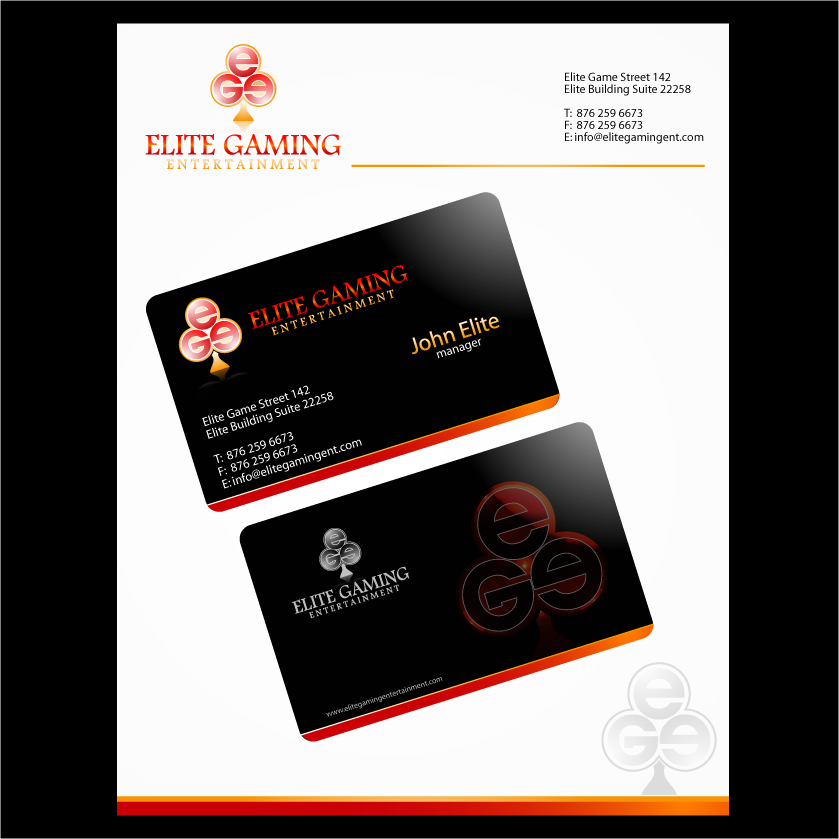 Logo Design by IM3D - Entry No. 95 in the Logo Design Contest Elite Gaming Entertainment.