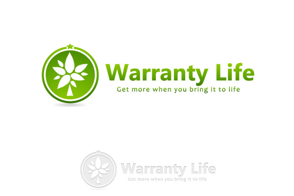 Logo Design by Private User - Entry No. 100 in the Logo Design Contest WarrantyLife Logo Design.