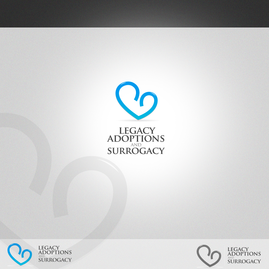 Logo Design by rockpinoy - Entry No. 67 in the Logo Design Contest Legacy Adoptions and Surrogacy Logo Design.