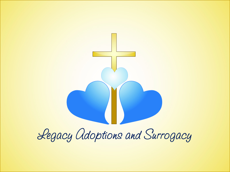 Logo Design by Niki_e_Z - Entry No. 69 in the Logo Design Contest Legacy Adoptions and Surrogacy Logo Design.