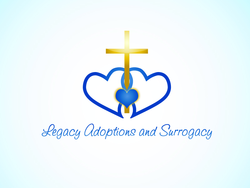 Logo Design by Niki_e_Z - Entry No. 70 in the Logo Design Contest Legacy Adoptions and Surrogacy Logo Design.