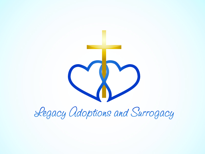 Logo Design by Niki_e_Z - Entry No. 71 in the Logo Design Contest Legacy Adoptions and Surrogacy Logo Design.