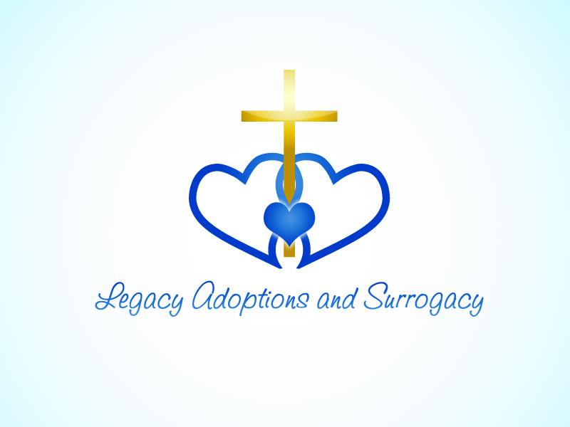 Logo Design by Niki_e_Z - Entry No. 72 in the Logo Design Contest Legacy Adoptions and Surrogacy Logo Design.
