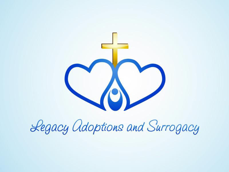 Logo Design by Niki_e_Z - Entry No. 73 in the Logo Design Contest Legacy Adoptions and Surrogacy Logo Design.
