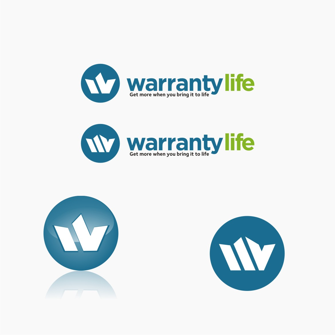 Logo Design by graphicleaf - Entry No. 108 in the Logo Design Contest WarrantyLife Logo Design.