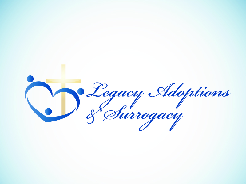 Logo Design by Niki_e_Z - Entry No. 76 in the Logo Design Contest Legacy Adoptions and Surrogacy Logo Design.