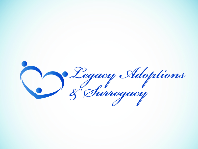 Logo Design by Niki_e_Z - Entry No. 77 in the Logo Design Contest Legacy Adoptions and Surrogacy Logo Design.