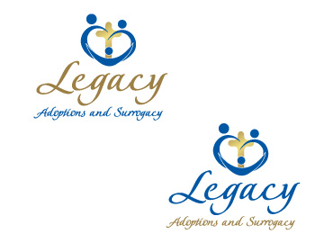 Logo Design by ddamian_dd - Entry No. 79 in the Logo Design Contest Legacy Adoptions and Surrogacy Logo Design.