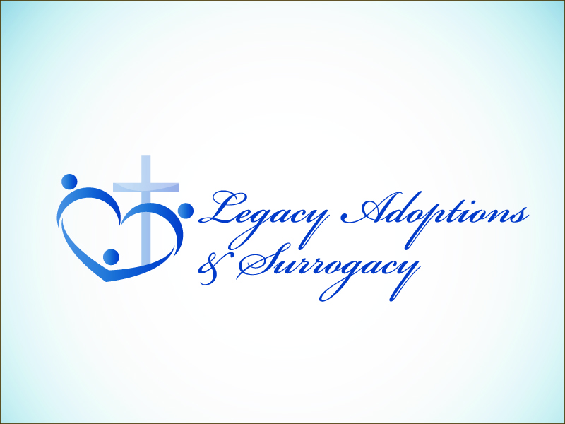 Logo Design by Niki_e_Z - Entry No. 80 in the Logo Design Contest Legacy Adoptions and Surrogacy Logo Design.