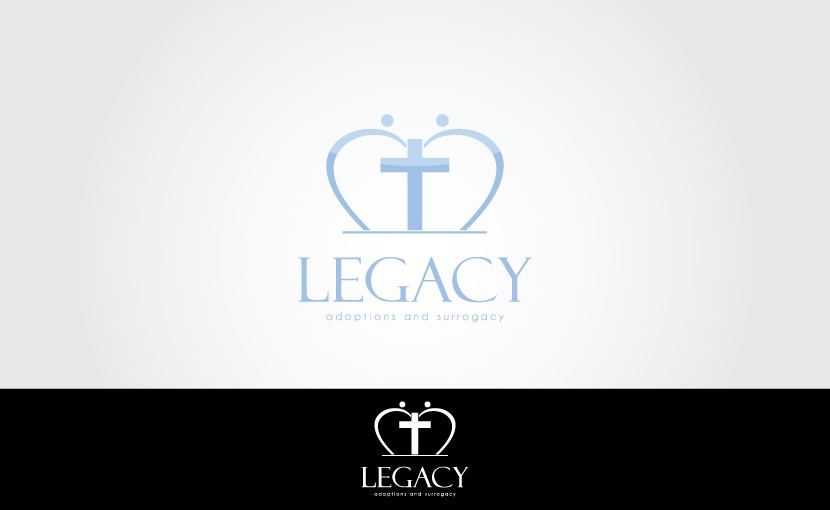 Logo Design by Private User - Entry No. 86 in the Logo Design Contest Legacy Adoptions and Surrogacy Logo Design.