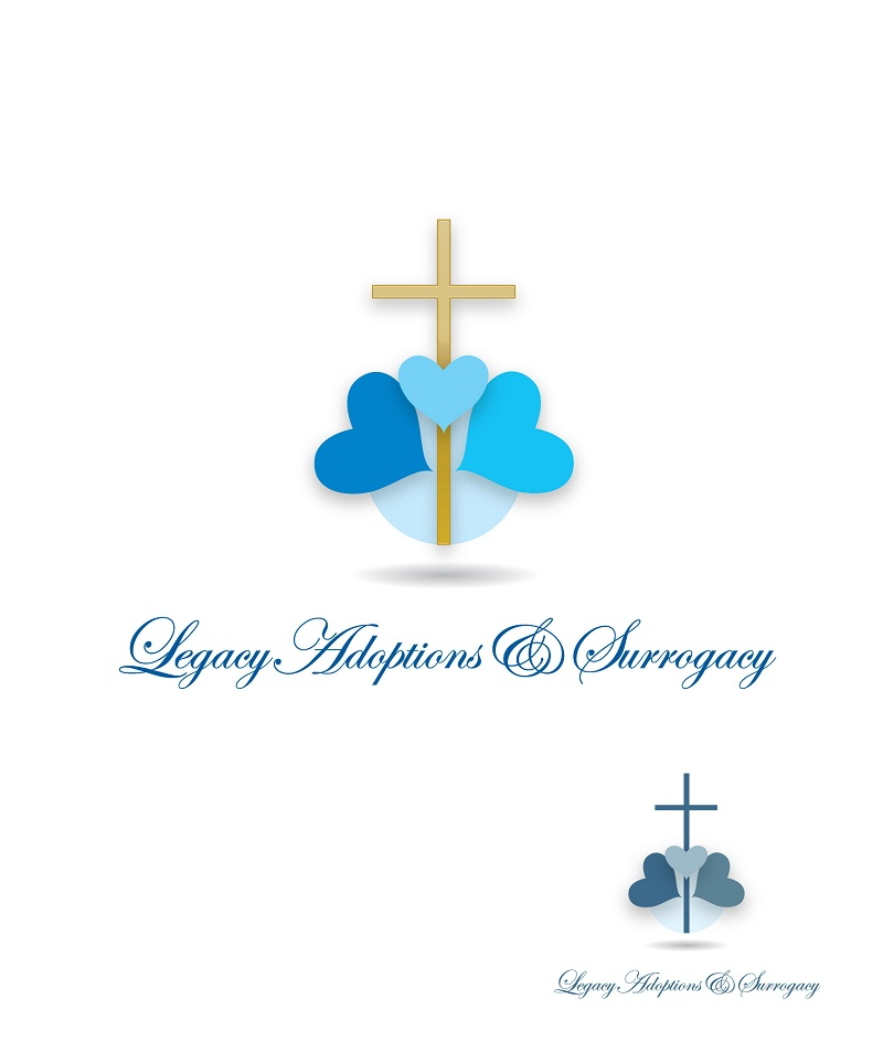 Logo Design by kowreck - Entry No. 94 in the Logo Design Contest Legacy Adoptions and Surrogacy Logo Design.