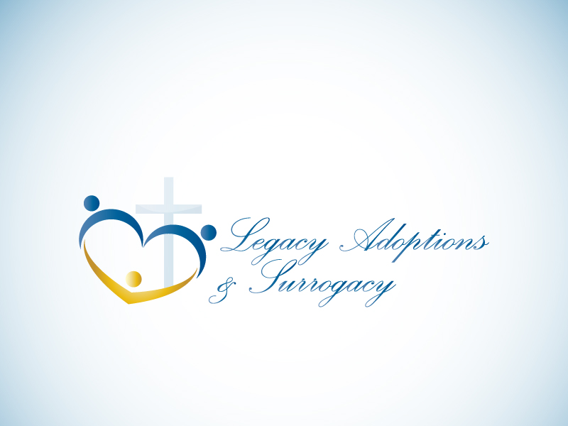 Logo Design by Niki_e_Z - Entry No. 99 in the Logo Design Contest Legacy Adoptions and Surrogacy Logo Design.