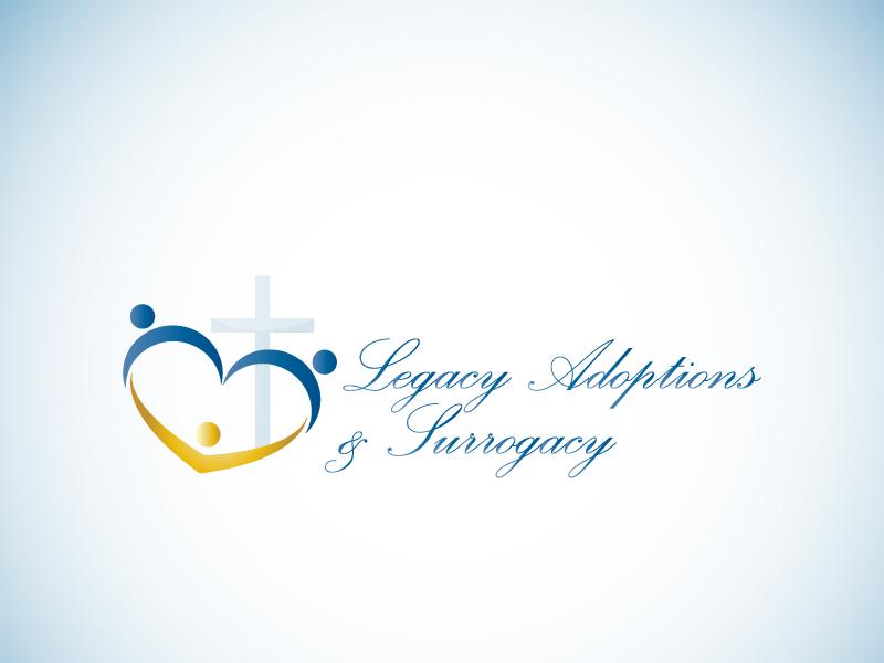 Logo Design by Niki_e_Z - Entry No. 99 in the Logo Design Contest Legacy Adoptions and Surrogacy Logo Design.