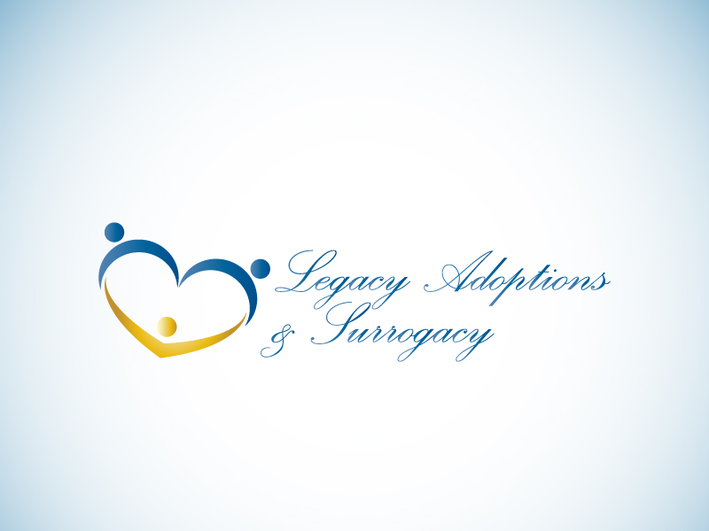 Logo Design by Niki_e_Z - Entry No. 103 in the Logo Design Contest Legacy Adoptions and Surrogacy Logo Design.