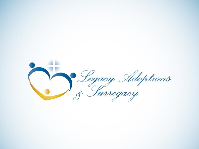 Logo Design by Niki_e_Z - Entry No. 106 in the Logo Design Contest Legacy Adoptions and Surrogacy Logo Design.