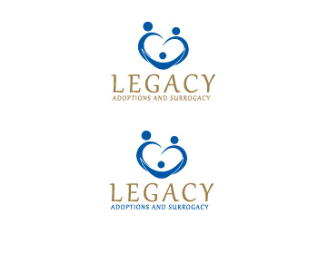 Logo Design by ddamian_dd - Entry No. 108 in the Logo Design Contest Legacy Adoptions and Surrogacy Logo Design.