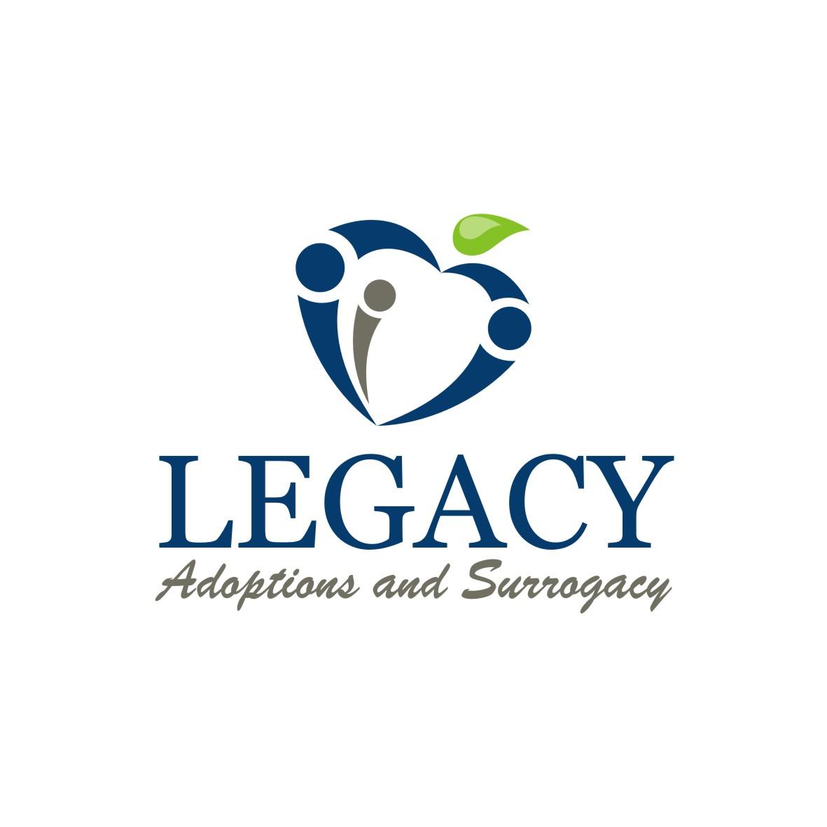 Logo Design by arteo_design - Entry No. 111 in the Logo Design Contest Legacy Adoptions and Surrogacy Logo Design.