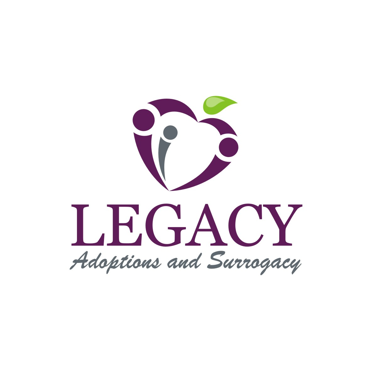 Logo Design by arteo_design - Entry No. 112 in the Logo Design Contest Legacy Adoptions and Surrogacy Logo Design.