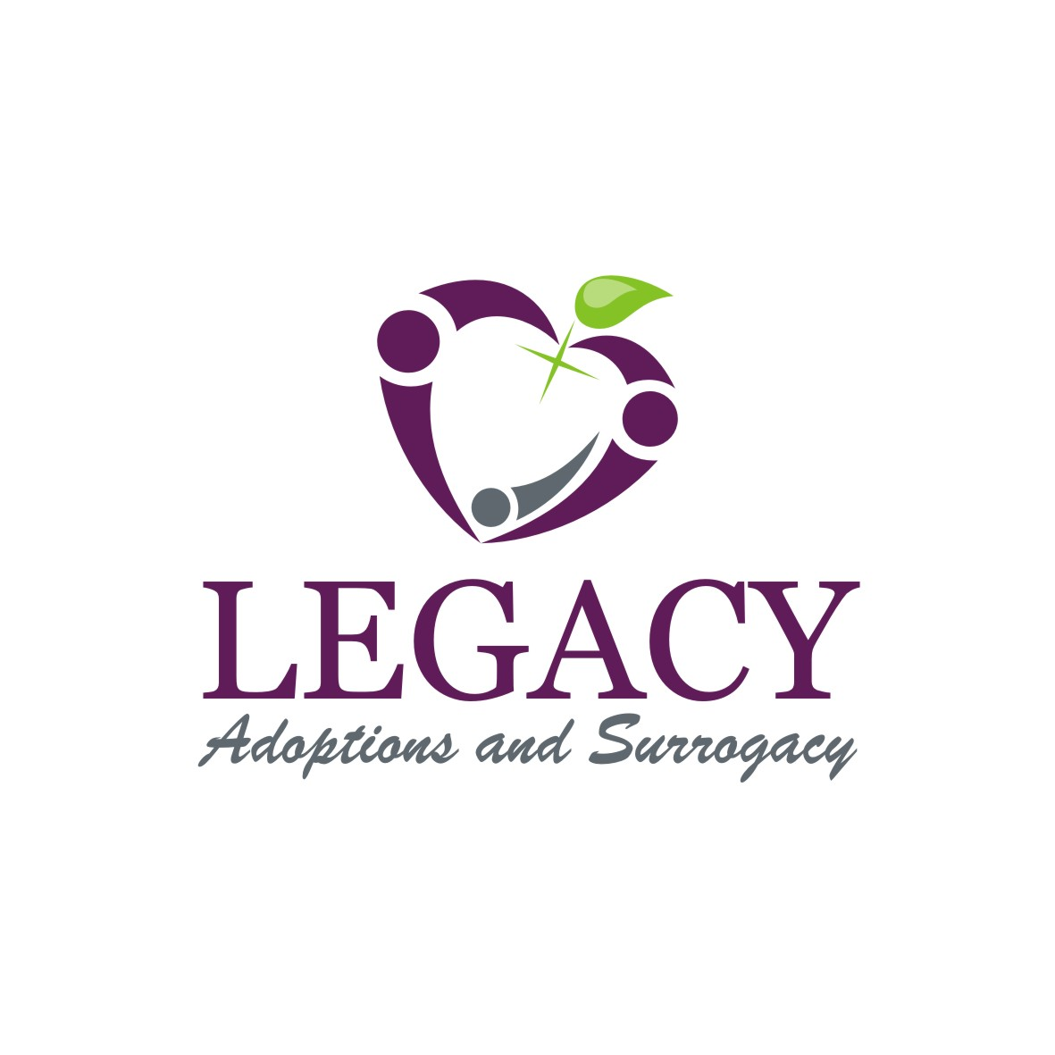 Logo Design by arteo_design - Entry No. 113 in the Logo Design Contest Legacy Adoptions and Surrogacy Logo Design.