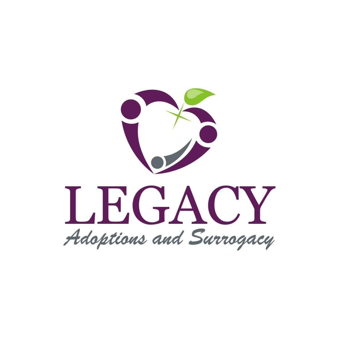 Logo Design by arteo_design - Entry No. 113 in the Logo Design Contest Legacy Adoptions and Surrogacy Logo Design.