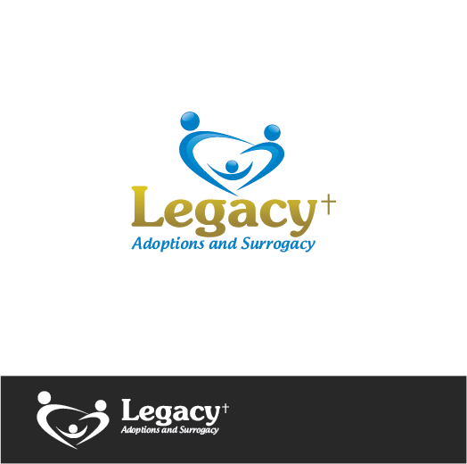 Logo Design by Private User - Entry No. 117 in the Logo Design Contest Legacy Adoptions and Surrogacy Logo Design.