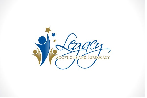 Logo Design by Fahad Khalid - Entry No. 120 in the Logo Design Contest Legacy Adoptions and Surrogacy Logo Design.