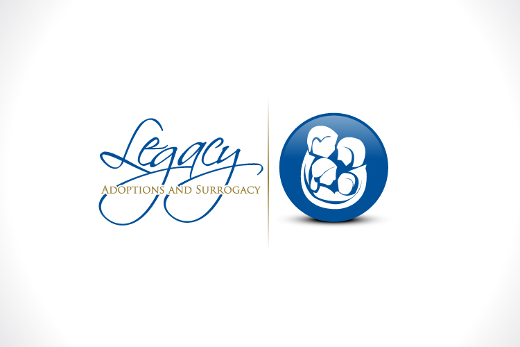 Logo Design by Fahad Khalid - Entry No. 121 in the Logo Design Contest Legacy Adoptions and Surrogacy Logo Design.
