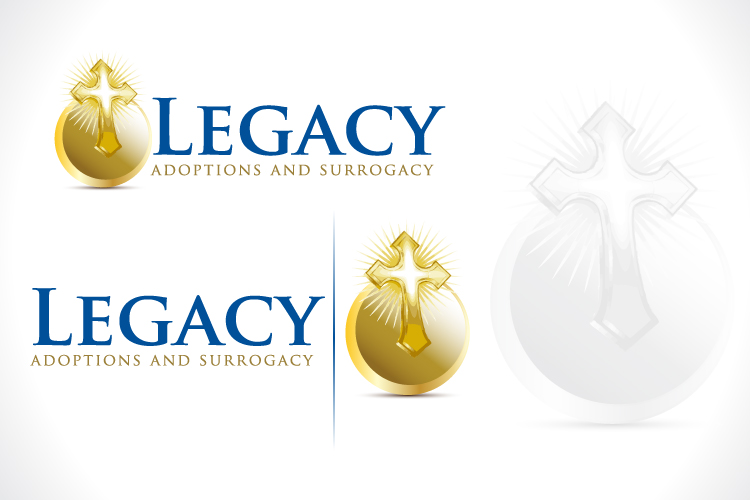 Logo Design by Fahad Khalid - Entry No. 126 in the Logo Design Contest Legacy Adoptions and Surrogacy Logo Design.