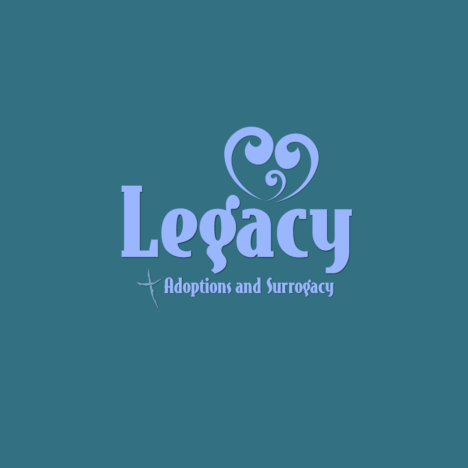 Logo Design by moonflower - Entry No. 127 in the Logo Design Contest Legacy Adoptions and Surrogacy Logo Design.