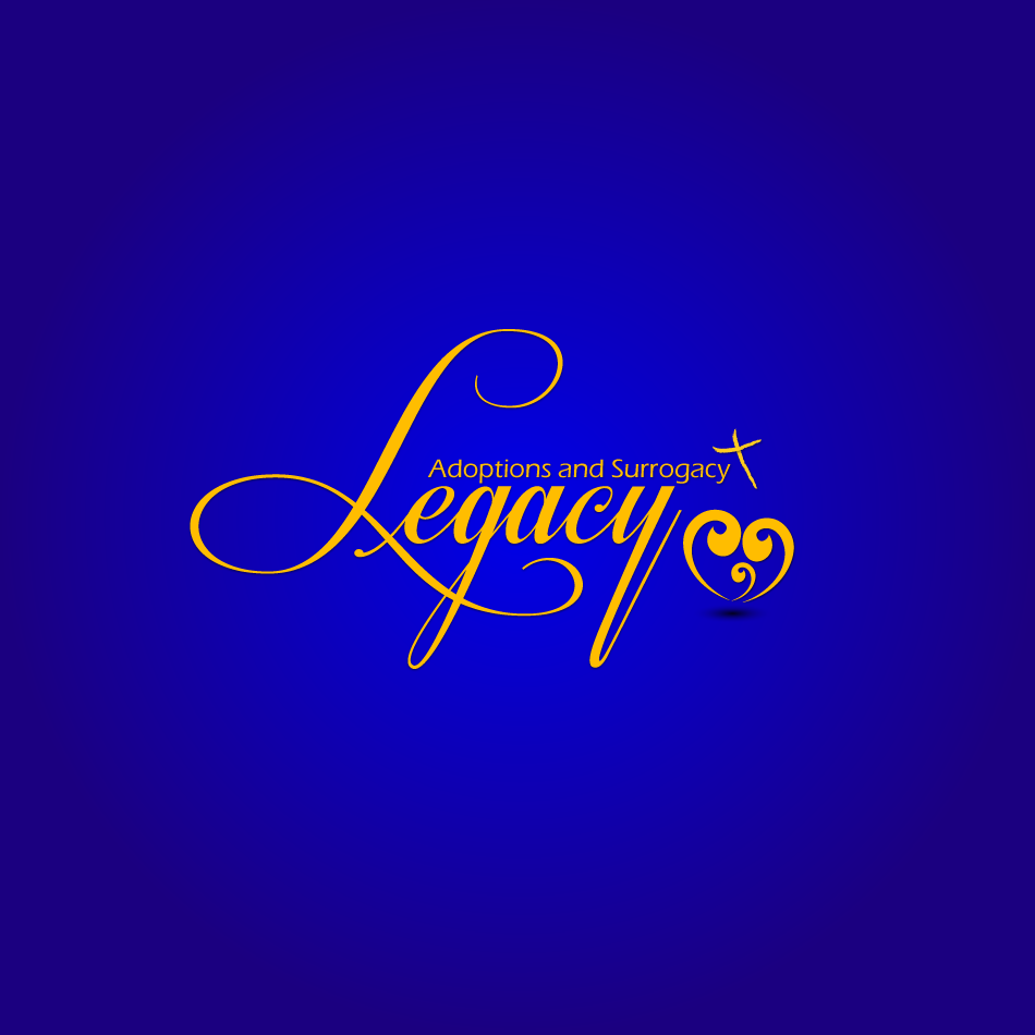 Logo Design by moonflower - Entry No. 128 in the Logo Design Contest Legacy Adoptions and Surrogacy Logo Design.