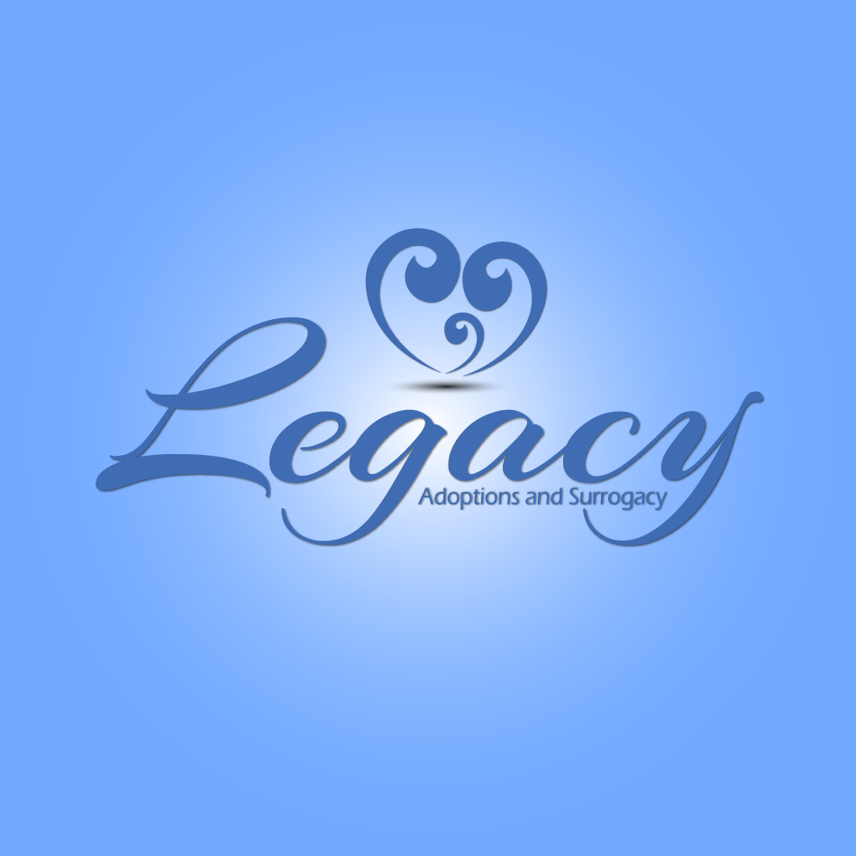 Logo Design by moonflower - Entry No. 130 in the Logo Design Contest Legacy Adoptions and Surrogacy Logo Design.