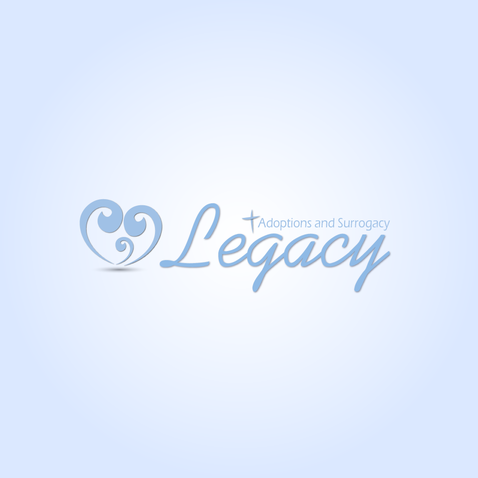 Logo Design by moonflower - Entry No. 131 in the Logo Design Contest Legacy Adoptions and Surrogacy Logo Design.