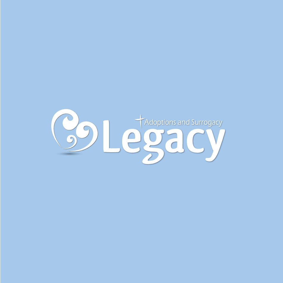 Logo Design by moonflower - Entry No. 132 in the Logo Design Contest Legacy Adoptions and Surrogacy Logo Design.