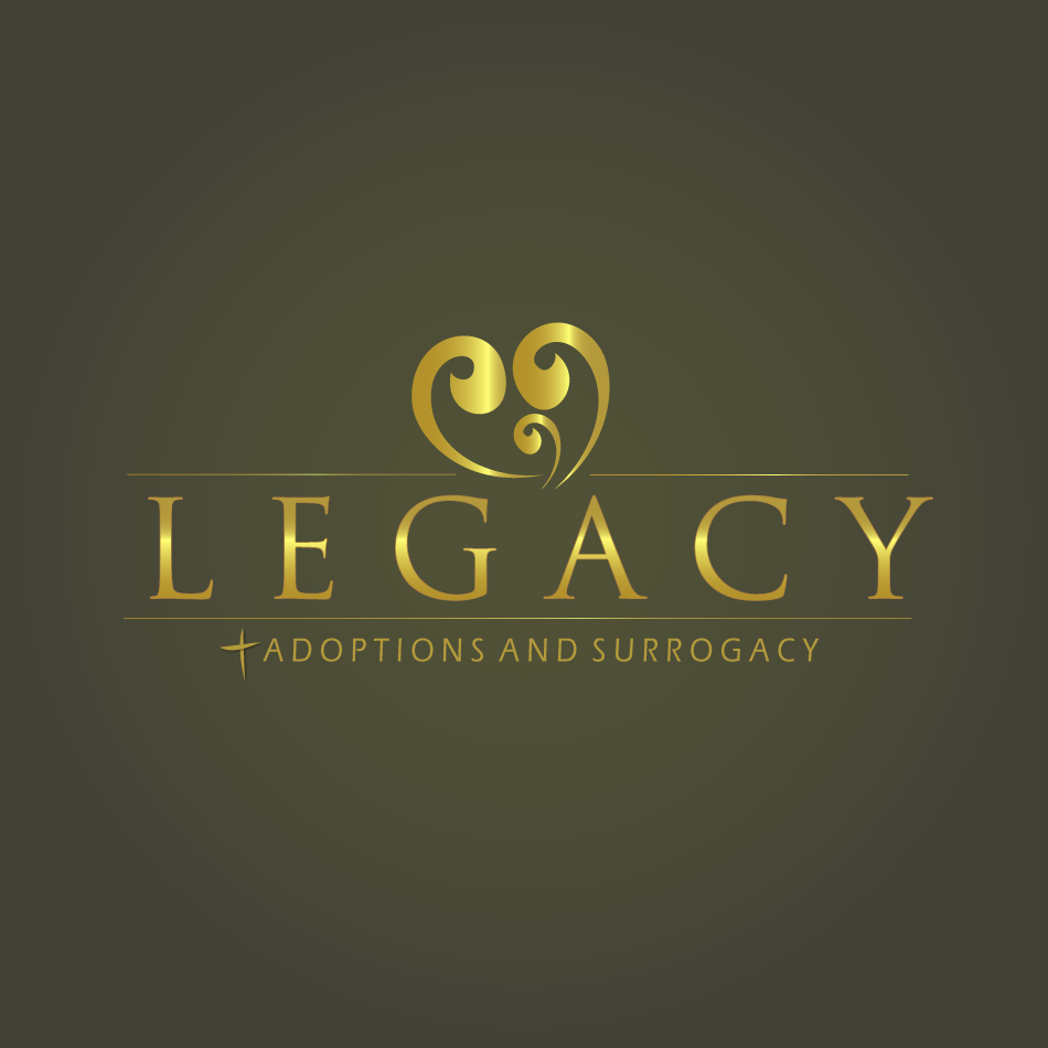 Logo Design by moonflower - Entry No. 133 in the Logo Design Contest Legacy Adoptions and Surrogacy Logo Design.