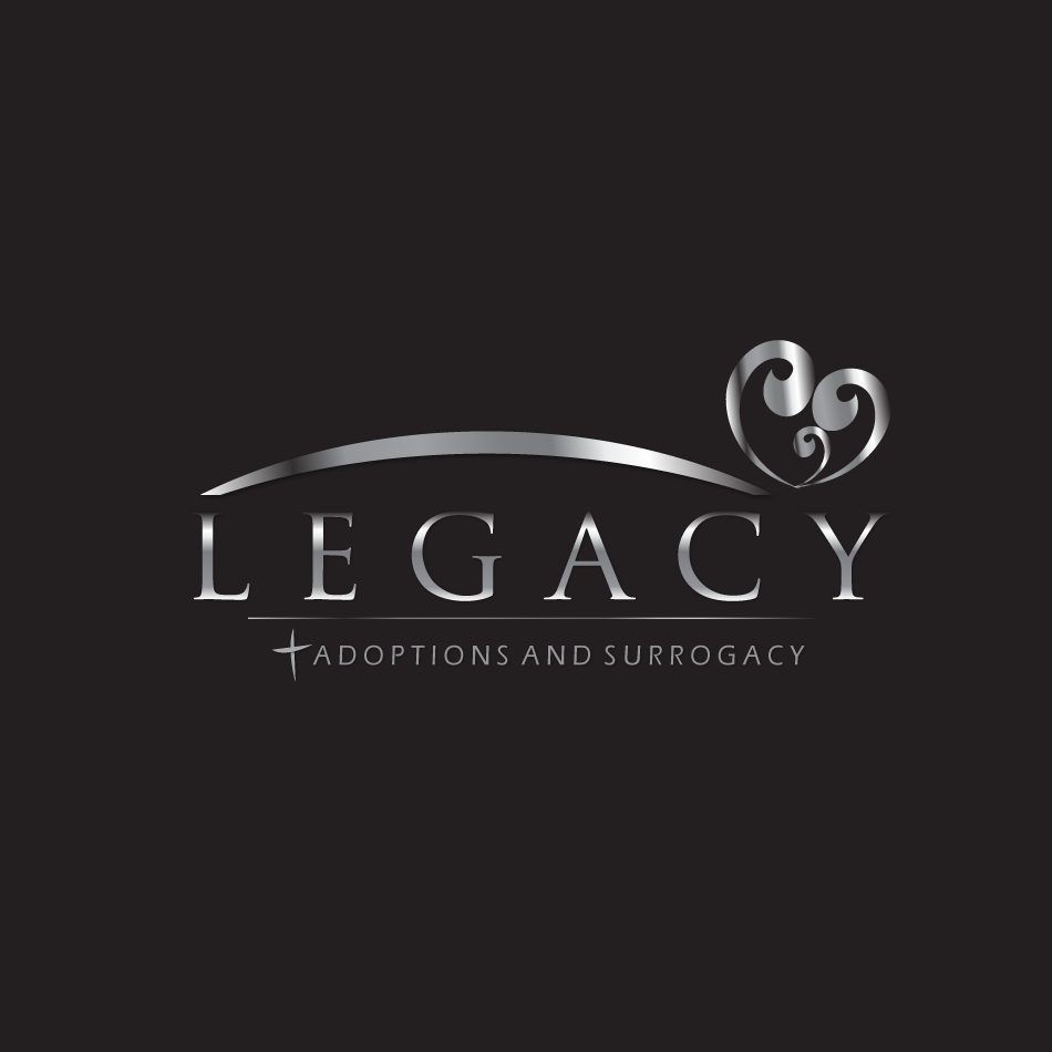 Logo Design by moonflower - Entry No. 135 in the Logo Design Contest Legacy Adoptions and Surrogacy Logo Design.